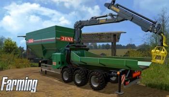 Измельчитель древесины для Farming Simulator 2015
