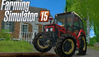 Zetor 7745 pvh для Farming Simulator 2015