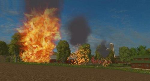 Огонь для Farming Simulator 2015