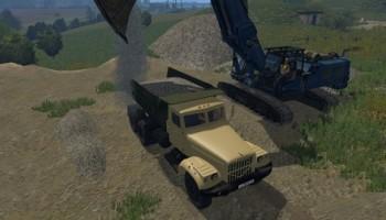 КрАЗ 256 для Farming Simulator 2015