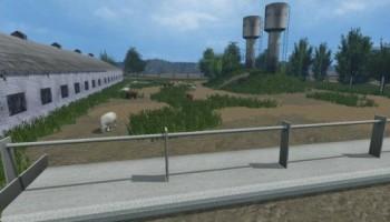 Борки (Белорусская карта) для Farming Simulator 2015