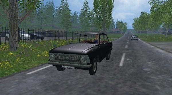 Москвич 412 для Farming Simulator 2015