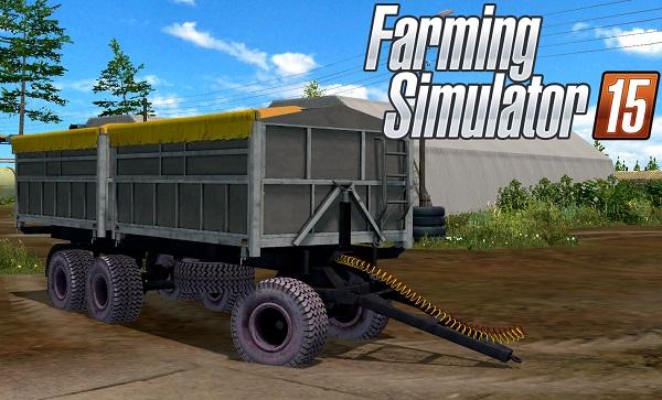 Новый прицеп ПТС-12 для Farming Simulator 2015