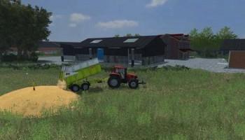 Разгрузка в любом месте для Farming Simulator 2015