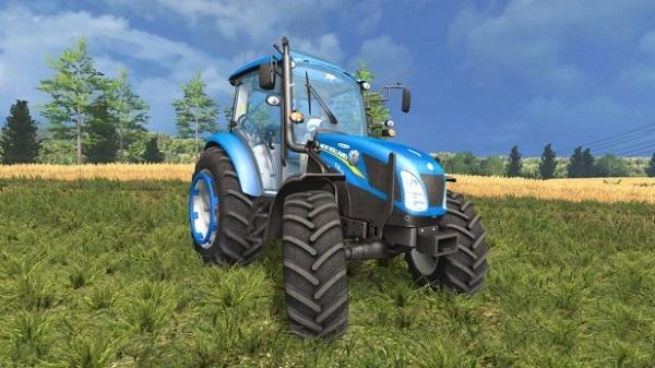 New Holland T4.75 v 2.0 для Farming Simulator 2015