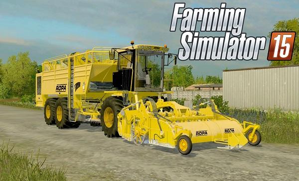 Ropa Euro Tiger V8 3 для Farming Simulator 2015