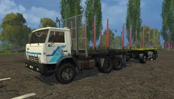 КамАЗ 53212 лесовоз для Farming Simulator 2015