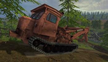 Лесопогрузчик ТТ-4 обновлённый для Farming Simulator 2015