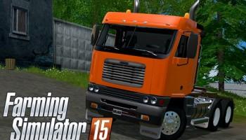 Freightliner Argosy Daycab для Farming Simulator 2015