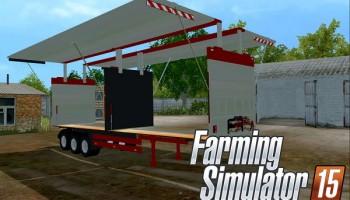 Flexi SemiTrailer для Farming Simulator 2015