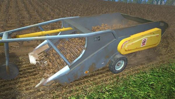 Agromet Pionier Z609 для Farming Simulator 2015