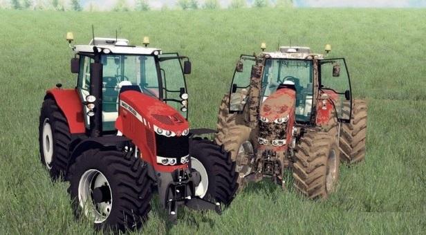 Massey Fergusson 7722 для Farming Simulator 2015