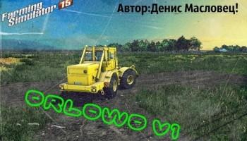 Карта Орлово v1 для Farming Simulator 2015
