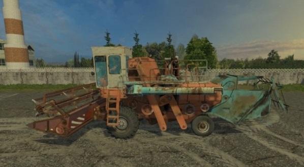 Енисей-1200 пак для Farming Simulator 2015