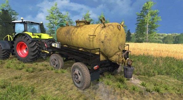 Detk 5 для удобрений для Farming Simulator 2015