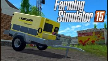 Kaercher Portable Pressure Washer v 1.1 для Farming Simulator 2015