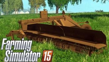 Lindbejb Oxbo 334 Merger для Farming Simulator 2015