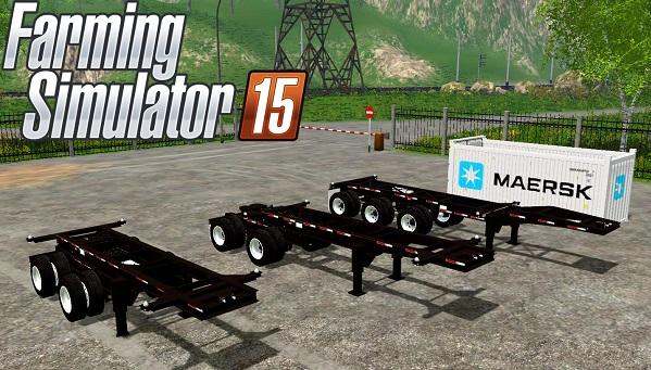 USA Container Pack для Farming Simulator 2015