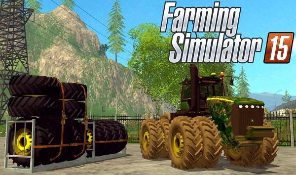 John Deere 9630 v 5.1 для Farming Simulator 2015