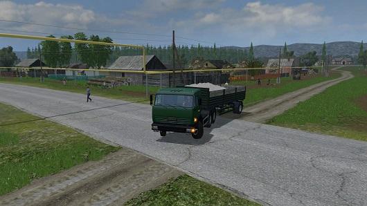 SAMARA VOLGA  V 2.1 для Farming Simulator 2015