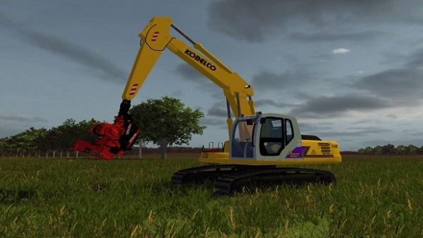 Kobelco SK160 для Farming Simulator 2015