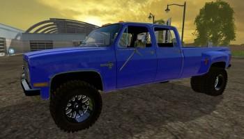 Chevy one ton 1984 Mod для Farming Simulator 2015