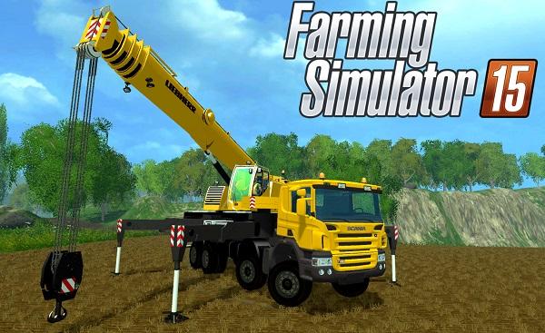 Scania P420 LTF 1060 для Farming Simulator 2015