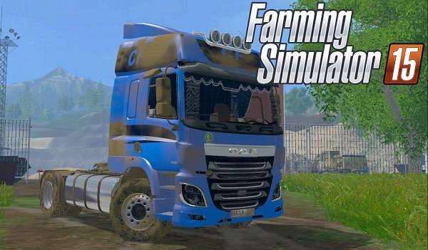 DAF CF 95 для Farming Simulator 2015