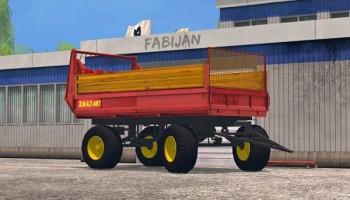 ZMAJ 487 разбрасыватель навоза для Farming Simulator 2015