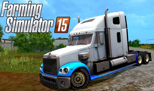 Freightliner Coronado для Farming Simulator 2015