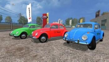 Volkswagen Beetle 1966 Multicolor для Farming Simulator 2015