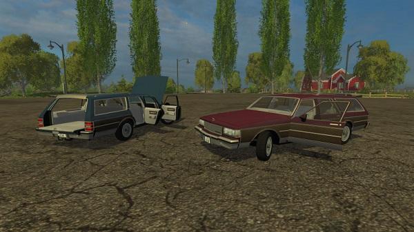 Chevrolet Caprice для Farming Simulator 2015