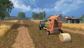 PRP 1,6 пресс-подборщик для Farming Simulator 2015