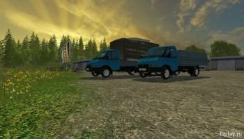 Газель 3302 для Farming Simulator 2015