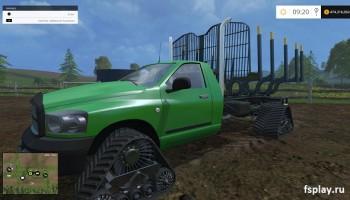 Dodge лесозов для Farming Simulator 2015