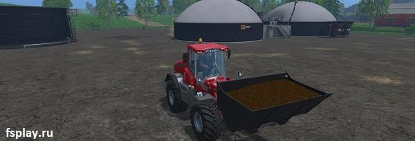 Ковш на 28 кубов для Farming Simulator 2015
