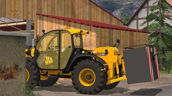JCB Loadall 536 70 с задней гидравликой для Farming Simulator 2015