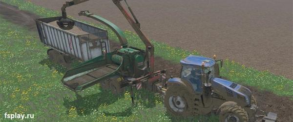 Jam Log Conrainver v.2.0 для Farming Simulator 2015