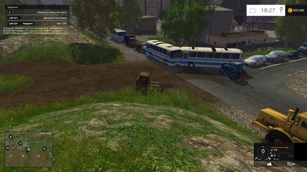 Трафик на карту «Дары Кавказа» для Farming Simulator 2015