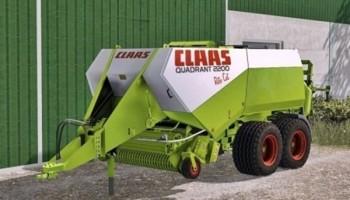 Тюкопресс Claas Quadrant 2200 для Farming Simulator 2015