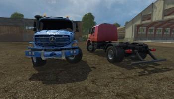 Mercedes Zetor для Farming Simulator 2015
