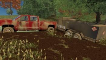 Thunder Creek Service Trailer v 1.0 для Farming Simulator 2015