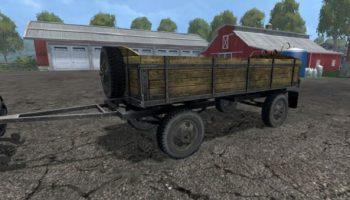 Old trailer v 2.2 для Farming Simulator 2015