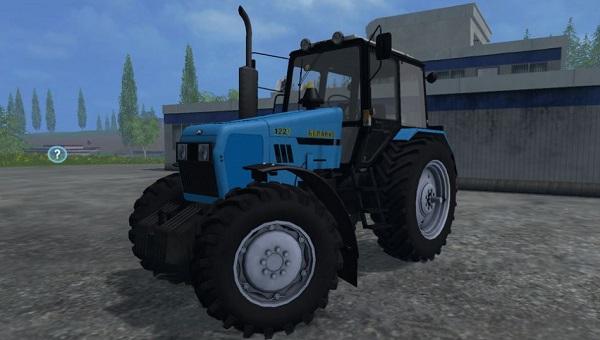 МТЗ 1221 v 2.0 голубой для Farming Simulator 2015