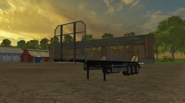 Fliegl Universal Semitrailer v 1.2 для Farming Simulator 2015