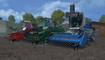 Подборщик PoRSM v 2.0 для Farming Simulator 2015