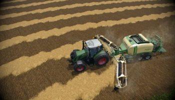 Krone BigPack 12130 & Nadal R90 для Farming Simulator 2015