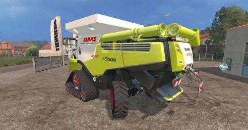 Скачать комбайн Claas Lexion 10X80
