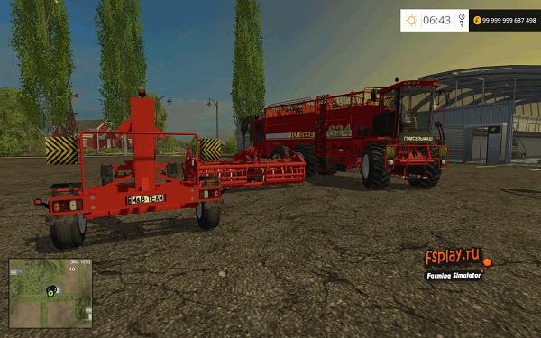Палессе 642 для Farming Simulator 2015