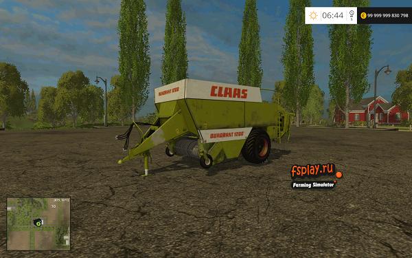 Claas Quadrant 1200 для Farming Simulator 2015